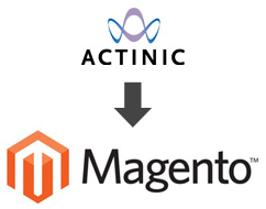 Actinic to Magento