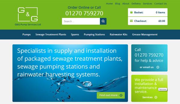 G&G Pumps Website